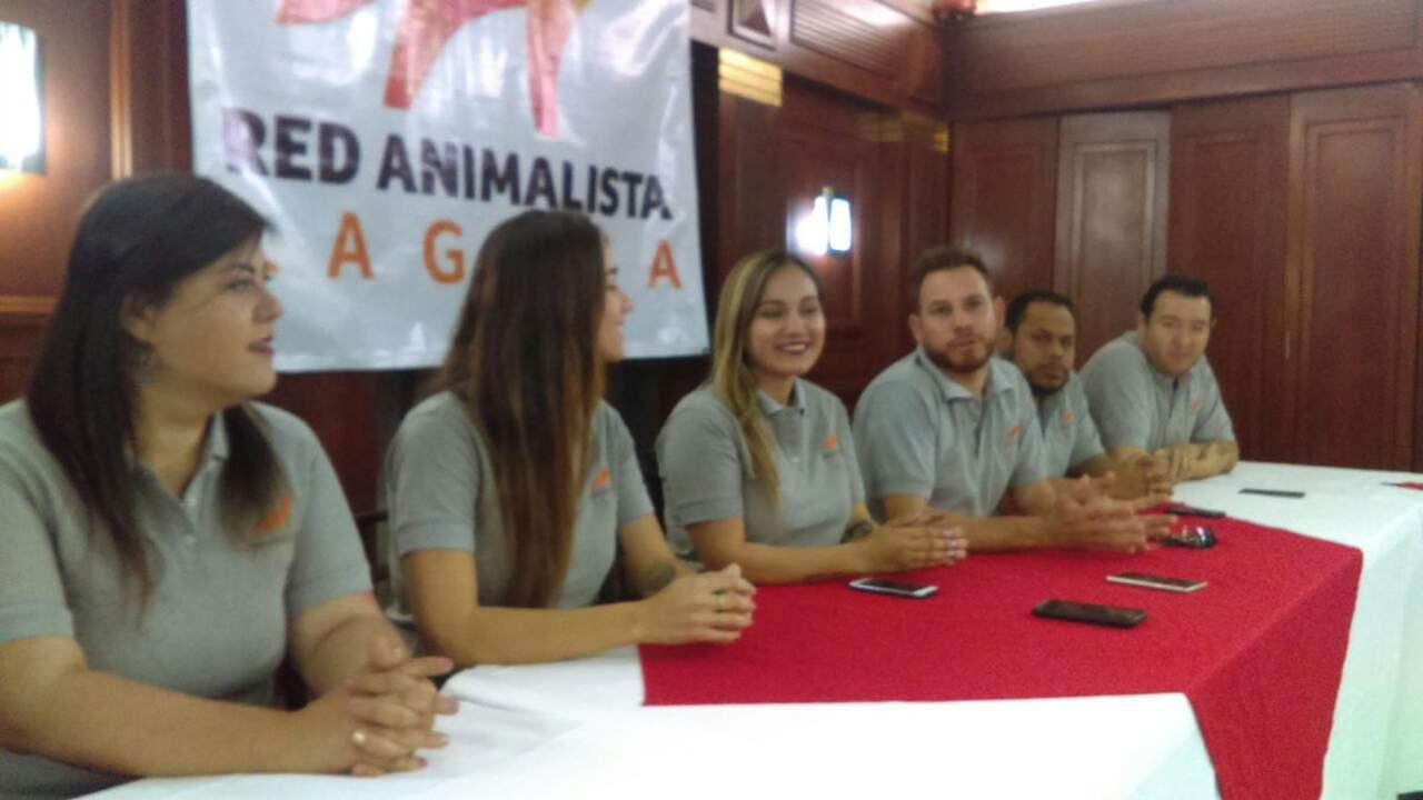 Asociaciones crean Red Animalista Laguna