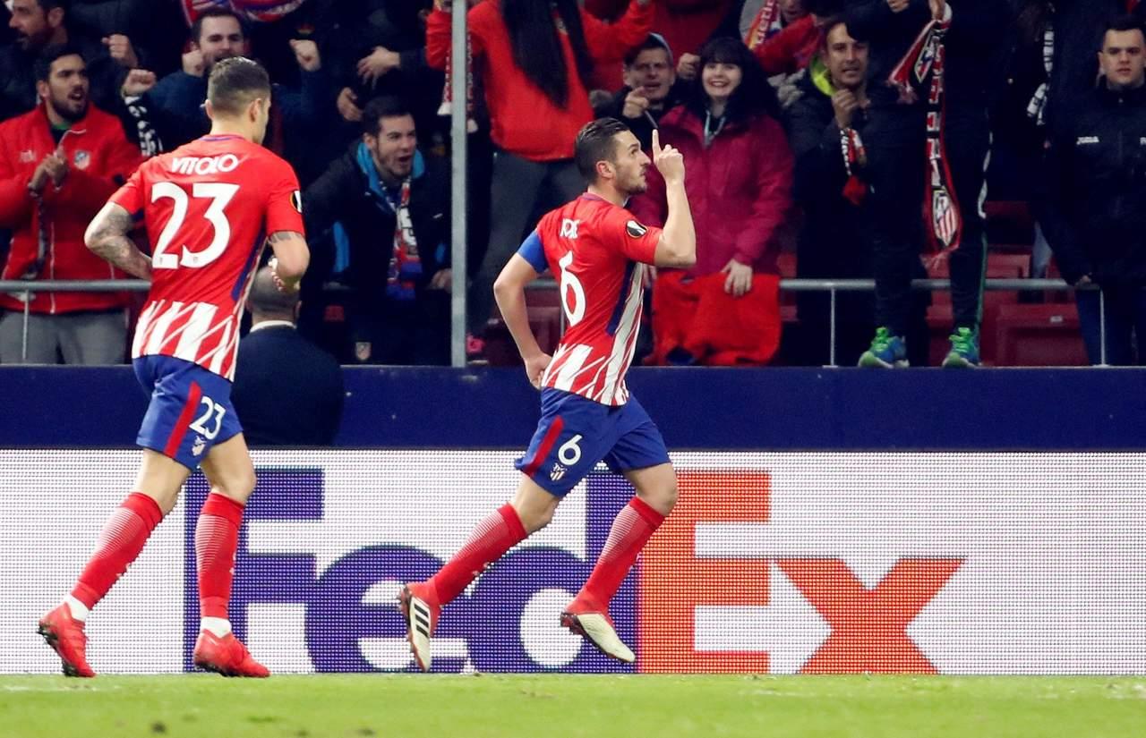 Aplastante victoria del Atlético en UEL