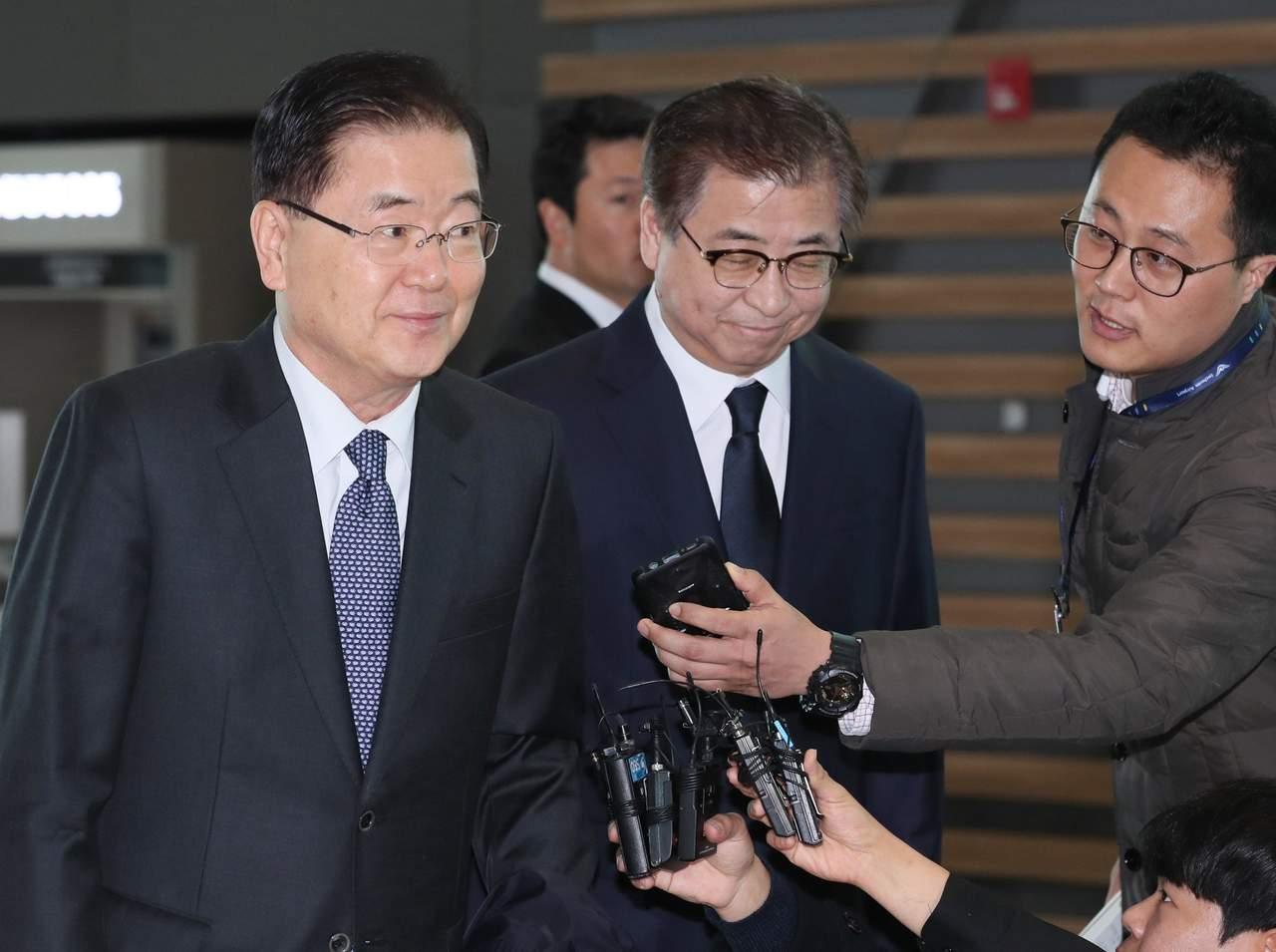 Recibe Casa Blanca delegación surcoreana que trae mensaje de Kim Jong-un