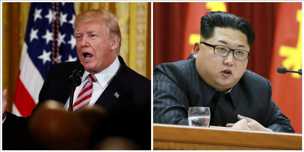 Acepta Trump reunirse con Kim Jong-un en mayo