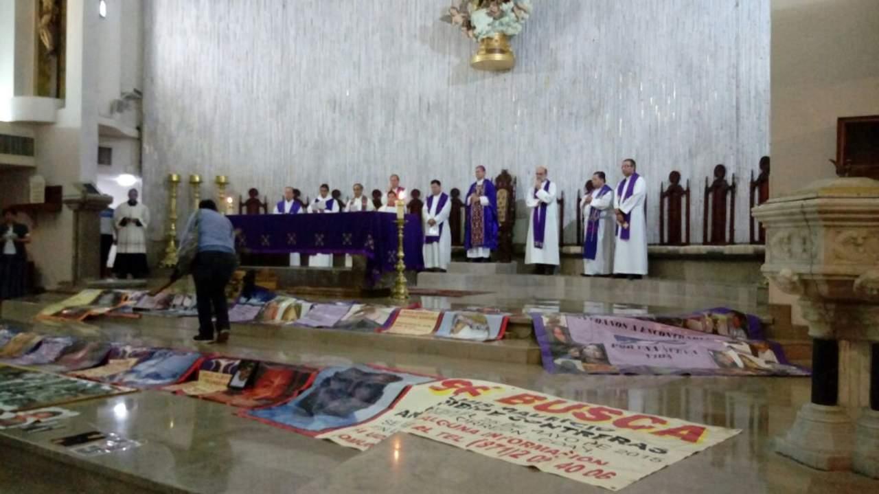 Ofrece obispo de Torreón misa por los desaparecidos