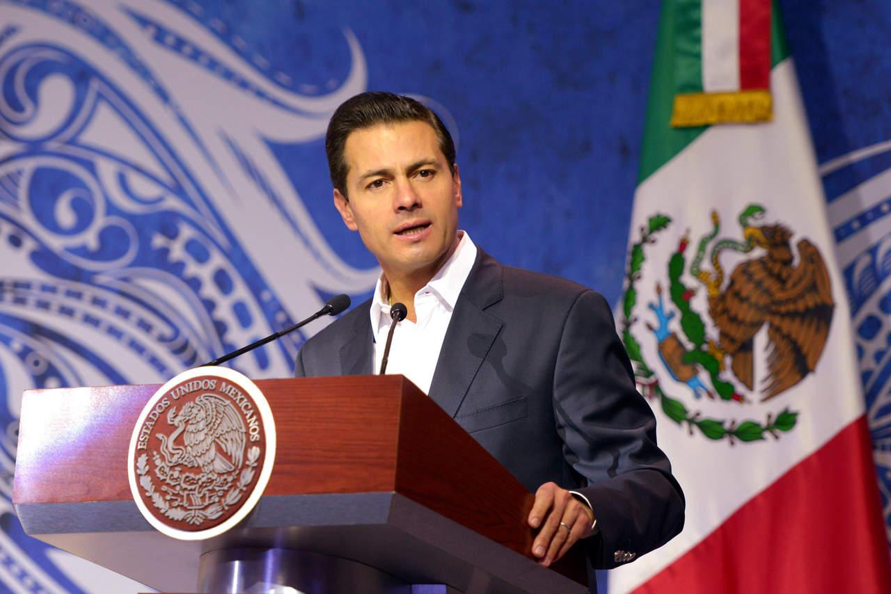 Destaca EPN voluntad de México, EU y Canadá de renovar el TLCAN