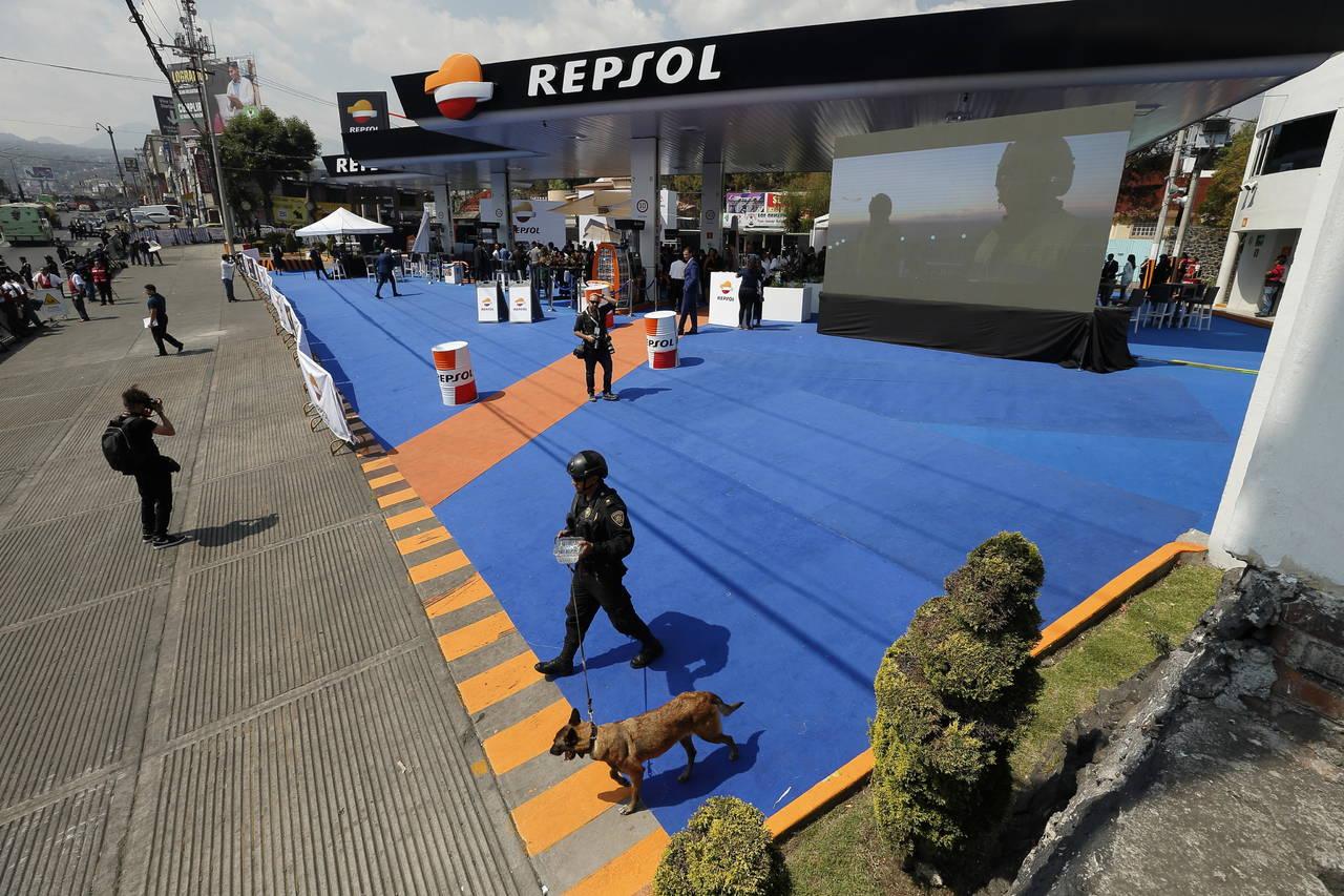 Española Repsol abre gasolineras en México