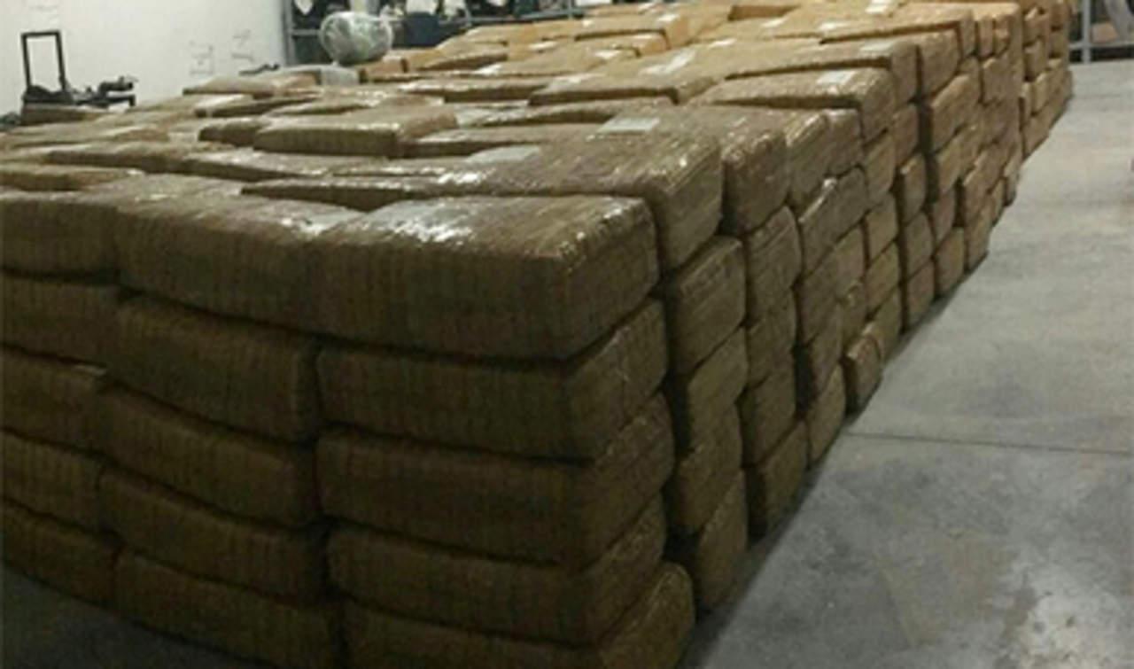 Lo detienen militares con más de tres toneladas de marihuana