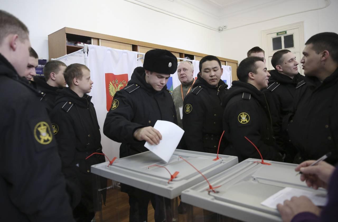 Más de 100 millones de rusos votarán por reelección de Putin
