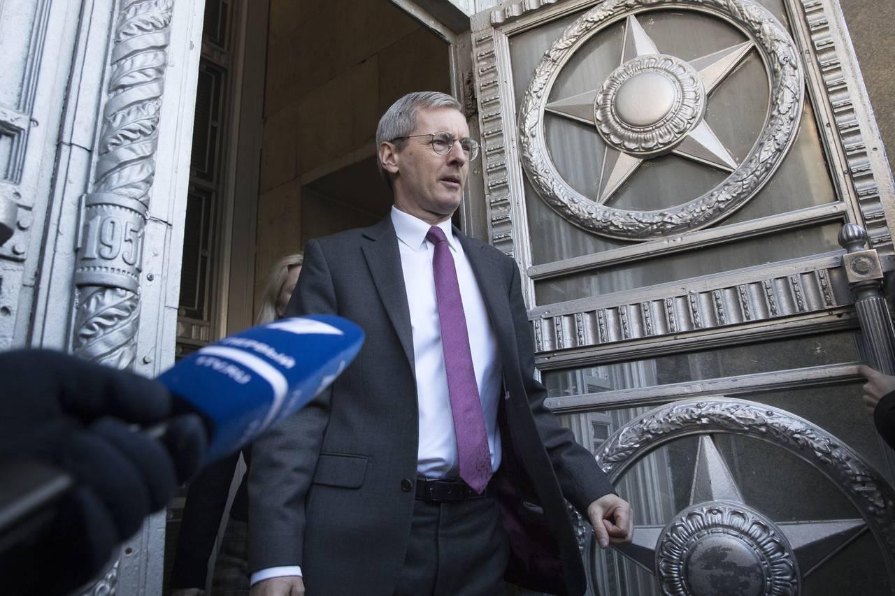 Gobierno ruso expulsa a diplomáticos británicos