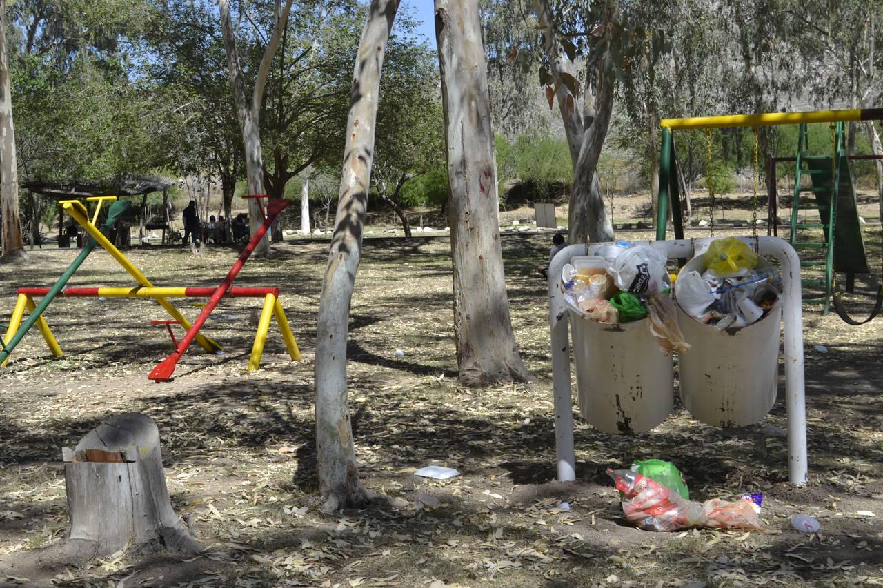 Deprime estado de parque Raymundo
