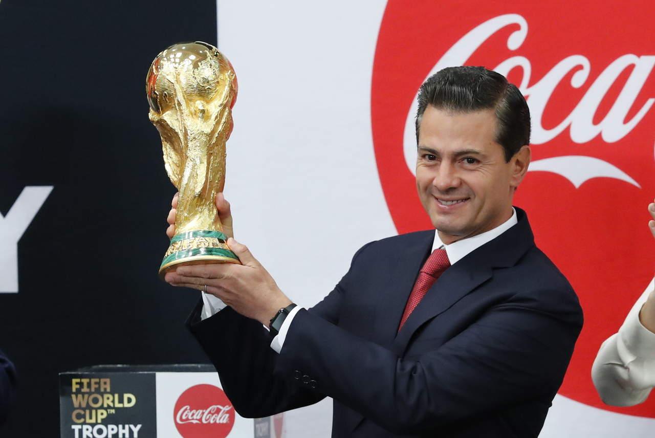 Tenemos derecho a ilusionarnos con la Copa del Mundo: Osorio a EPN