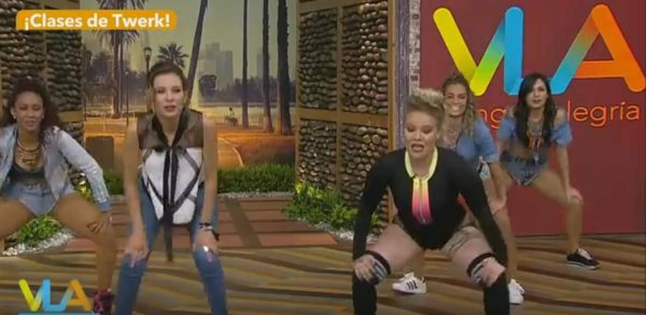 Critican a Ingrid Coronado por su forma de bailar