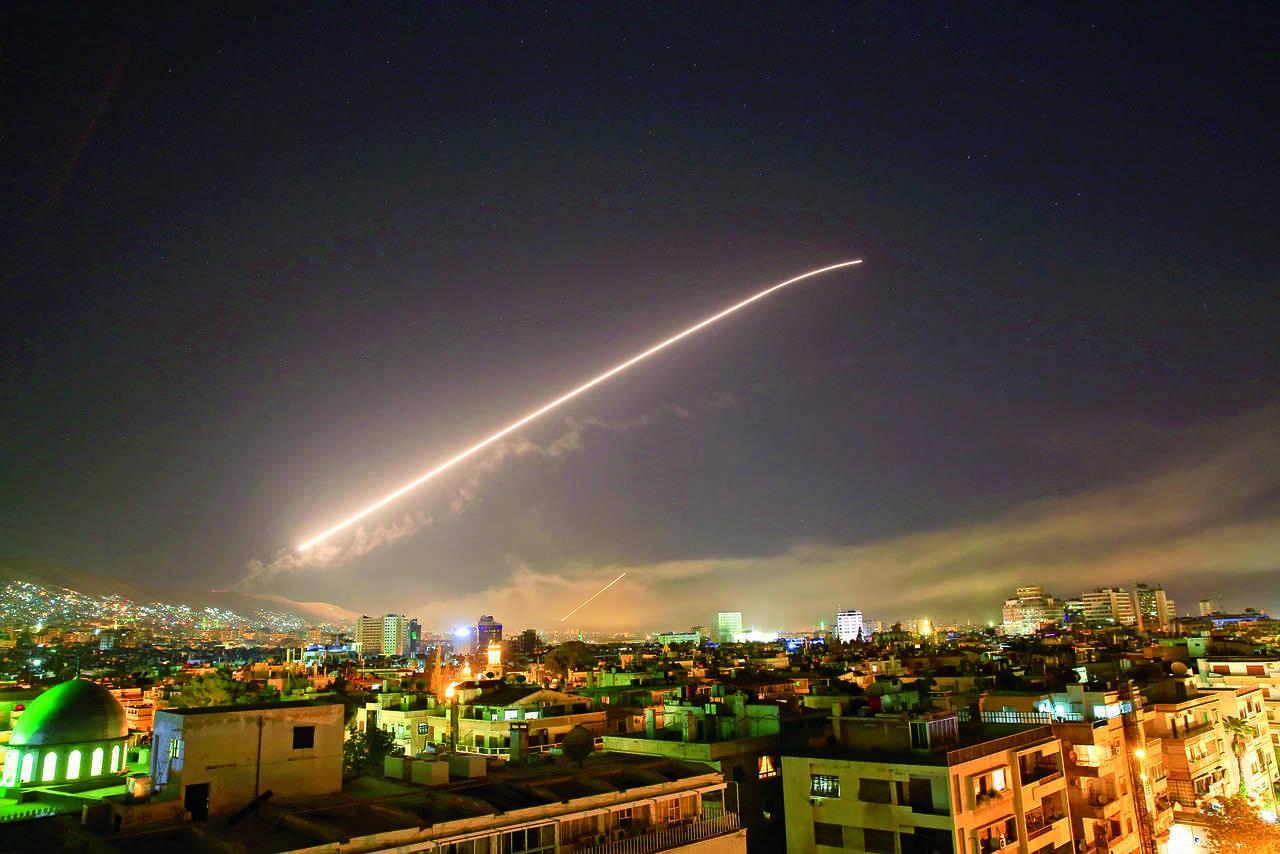 EU lanza un ataque a Siria