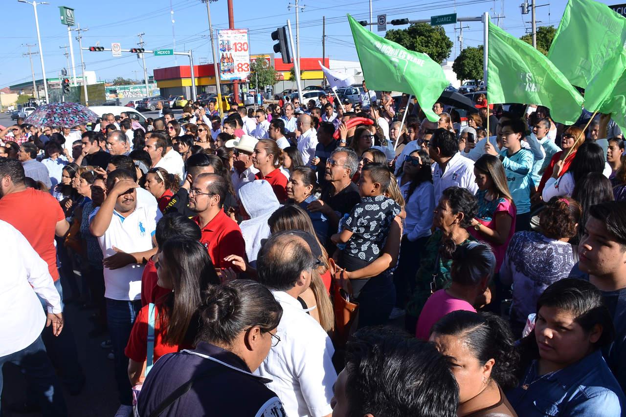 Se registra priista José Antonio Gutiérrez Jardón como candidato a la alcaldía de Torreón