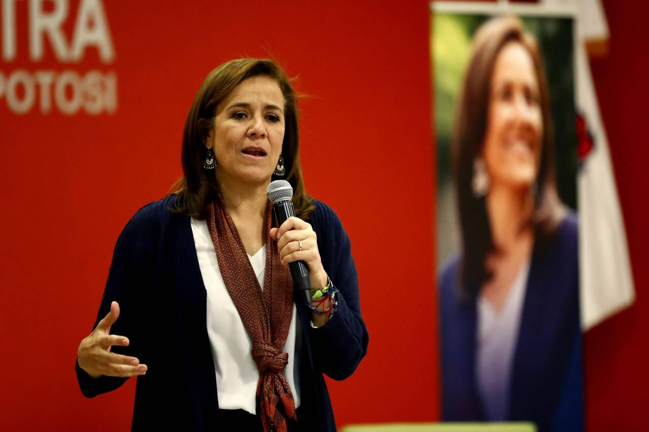 Soy la única capaz de vencer a López Obrador: Zavala