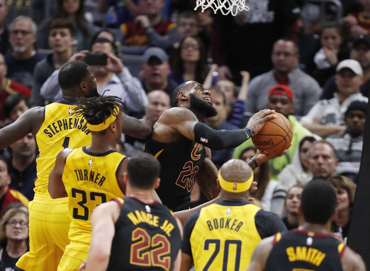 Pacers sorprende a LeBron y los 'Cavs'