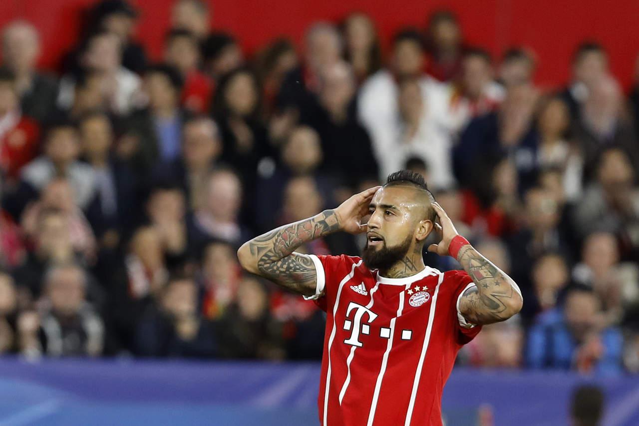 Vidal podría perderse duelo de Champions ante Real Madrid