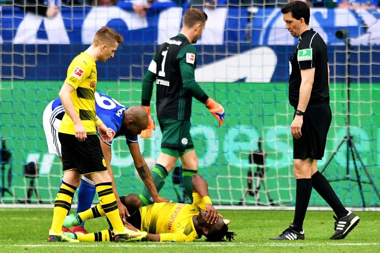 Batshuayi se pierde el cierre de Bundesliga por lesión