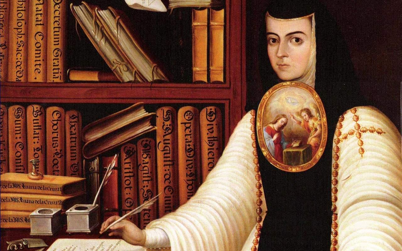 1695: Se extingue la vida de Sor Juana Inés de la Cruz, gran exponente del Siglo de Oro de la literatura en español