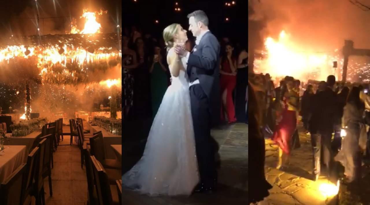 Incendio termina con boda en Jalisco
