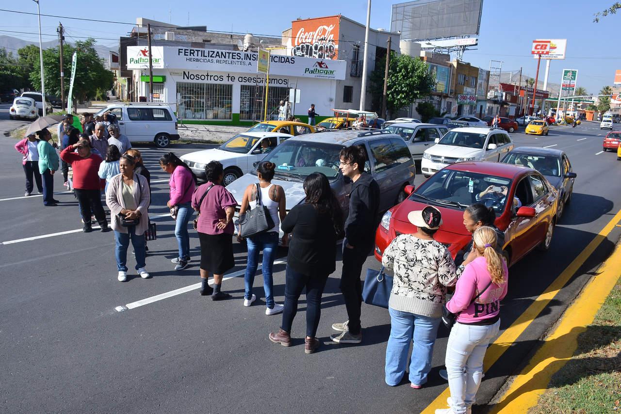Bloquean el Independencia para exigir descuentos al Simas