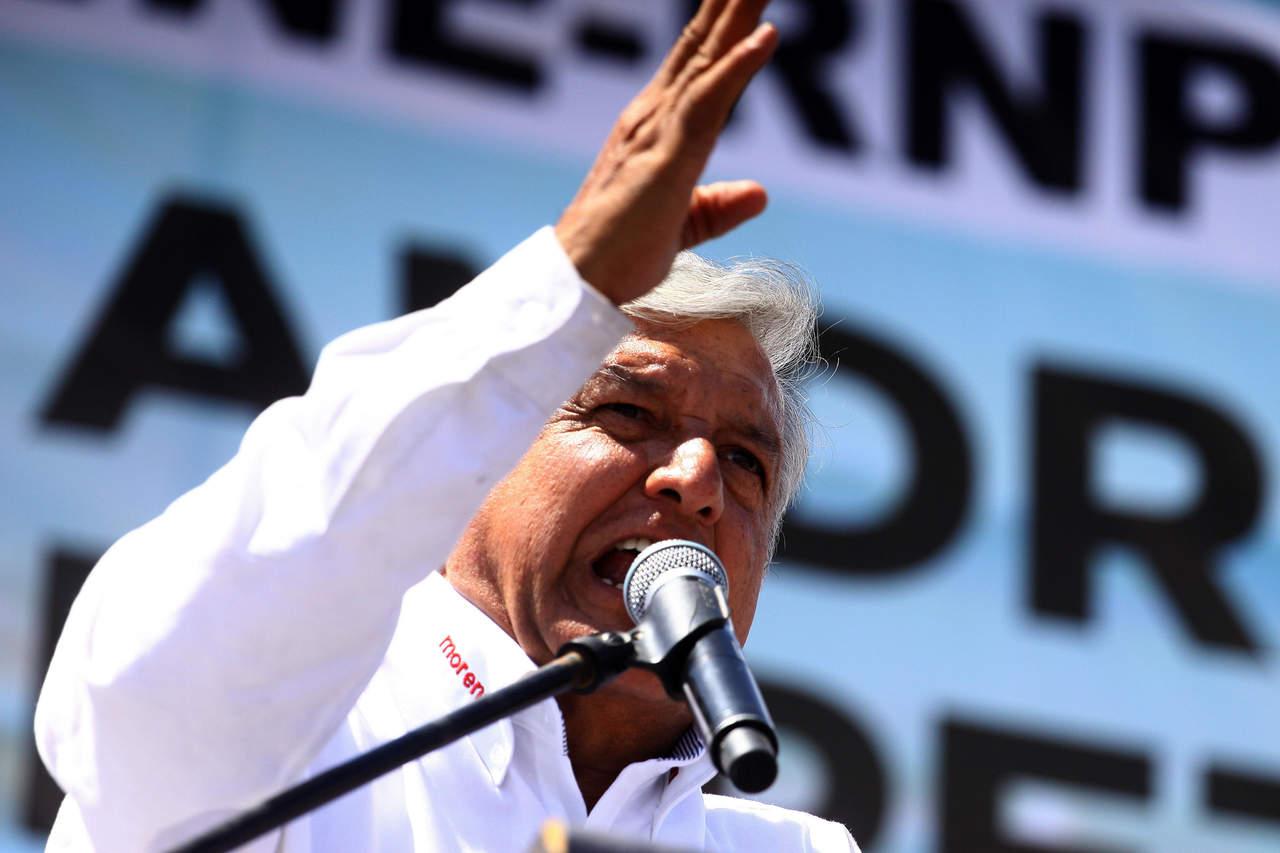 Utilizan a Slim para frenar mi candidatura: López Obrador