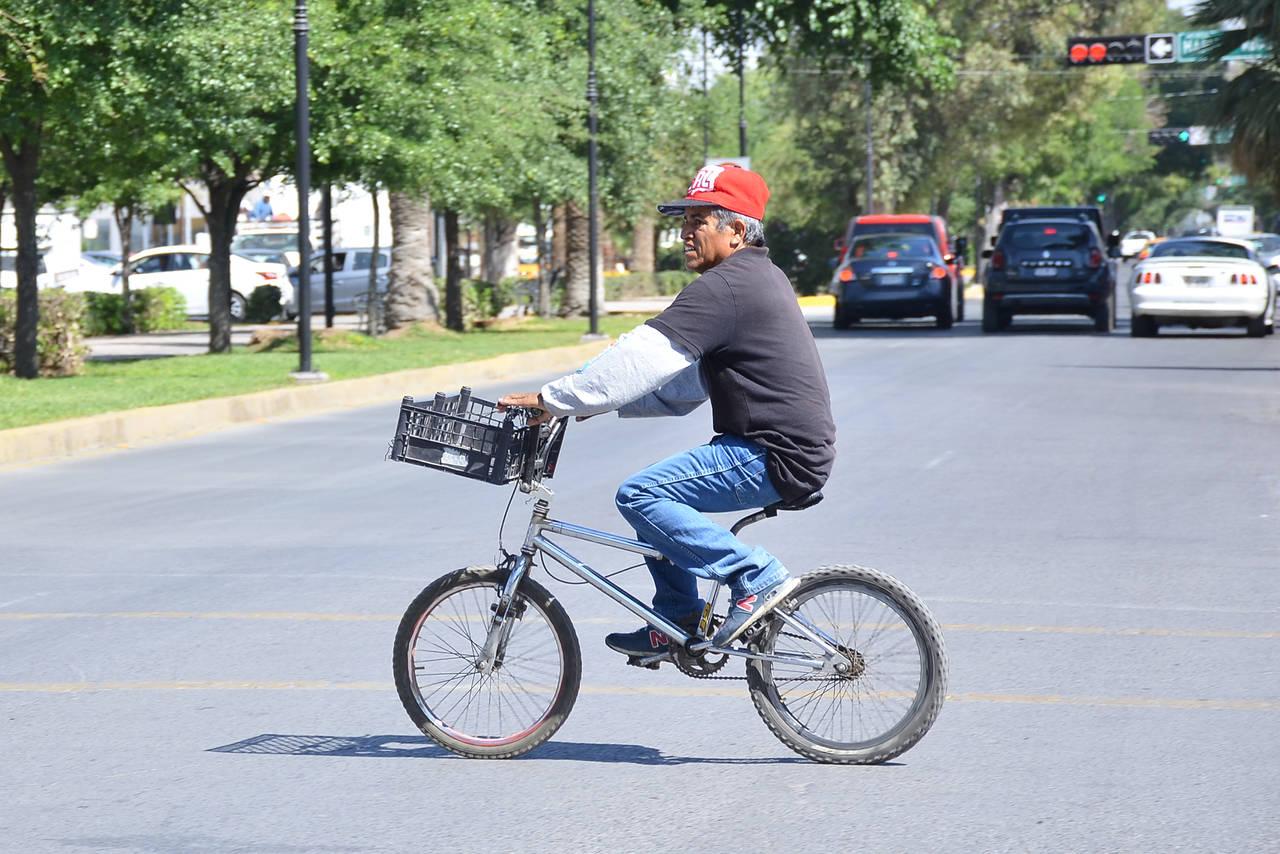 Hay pocas ciclovías  y son inseguras