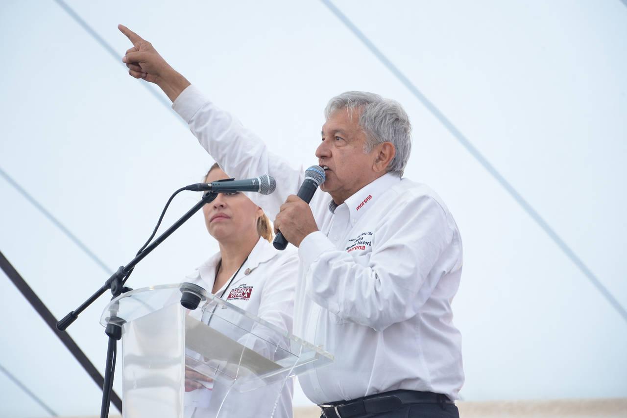 Convocan a marcha de apoyo por visita de AMLO a Torreón