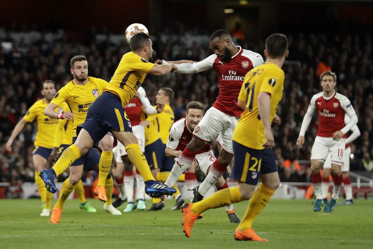 Atlético saca valioso empate del Emirates Stadium