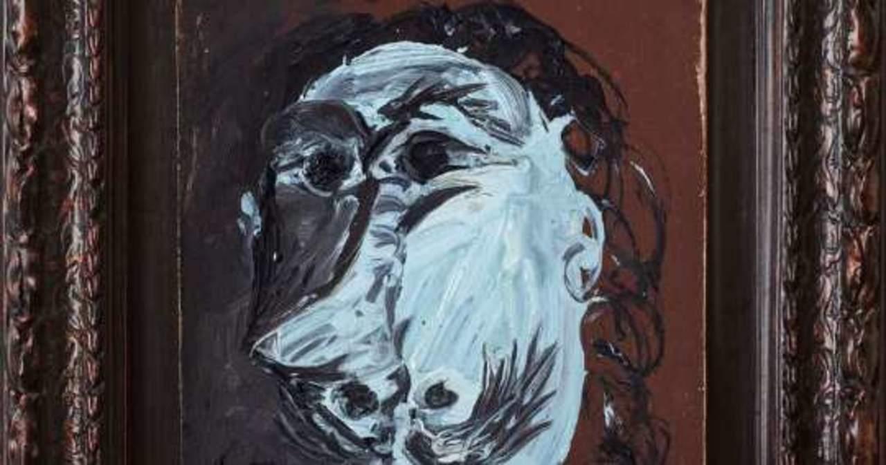 Buste de mousquetaire, de Picasso
