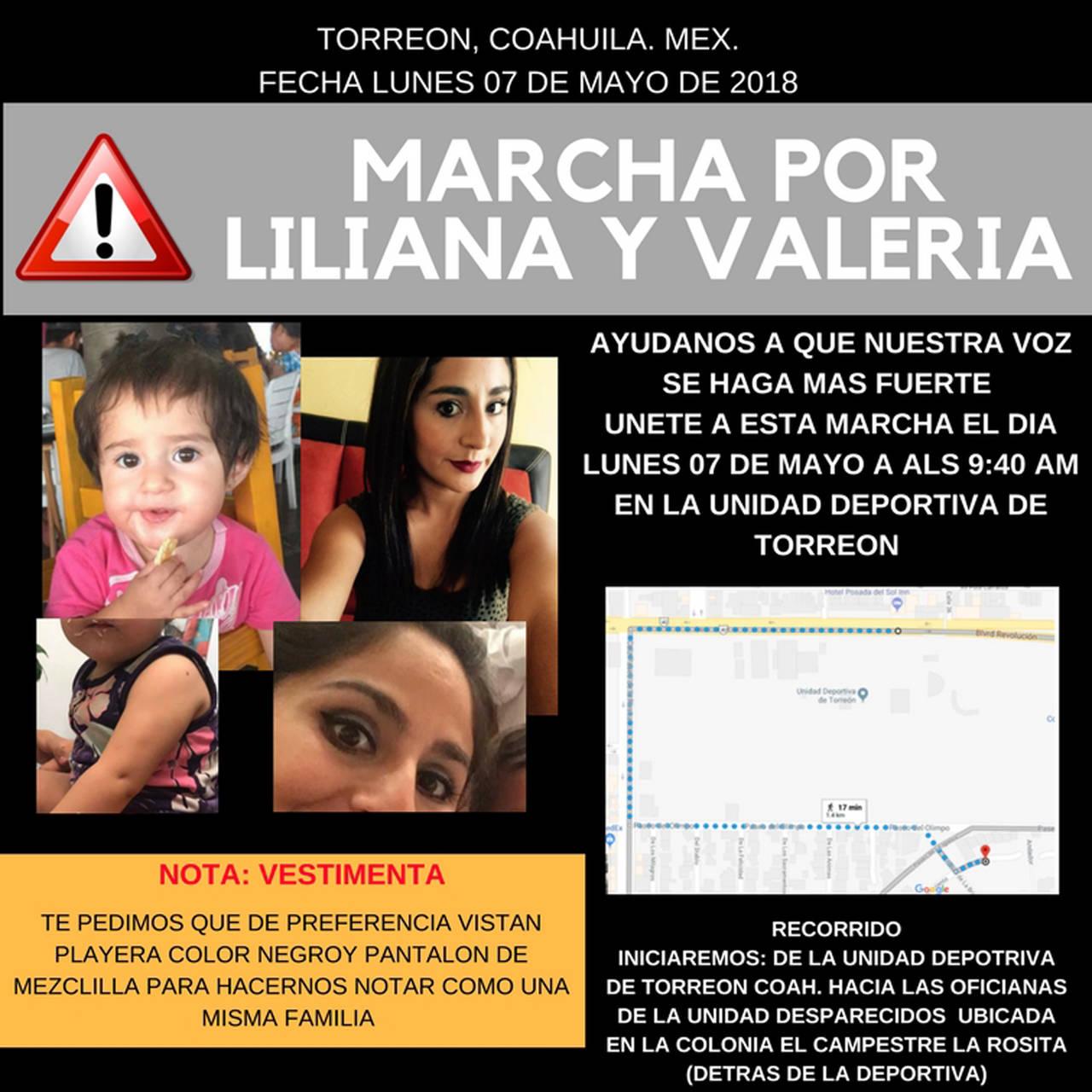 Exigirán aparición de Liliana y su hija