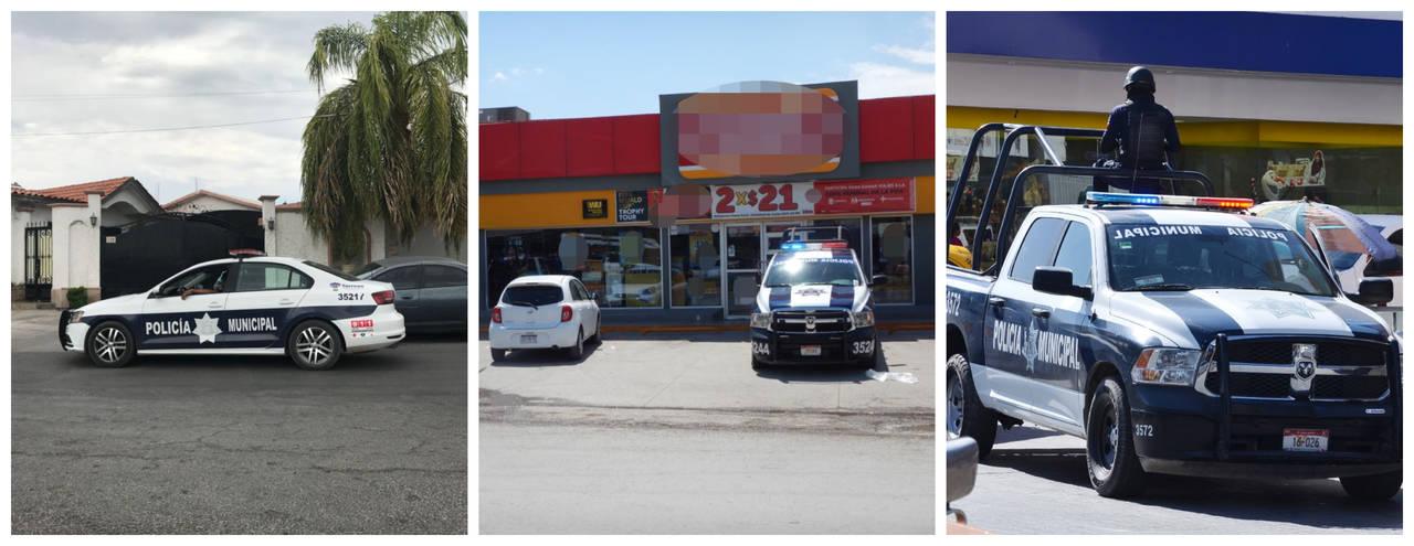 Tres robos activan código rojo en Torreón