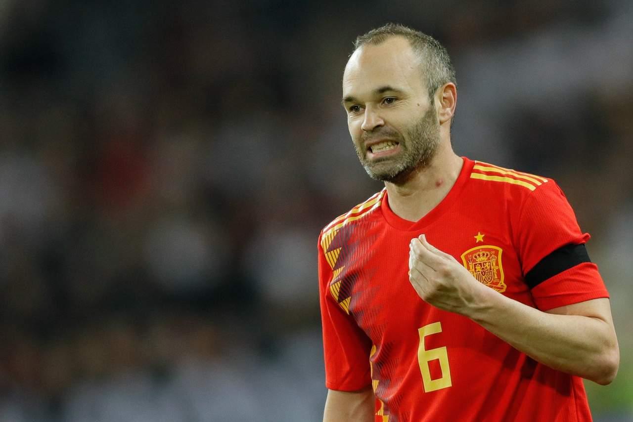 Iniesta se despedirá de la selección en Rusia