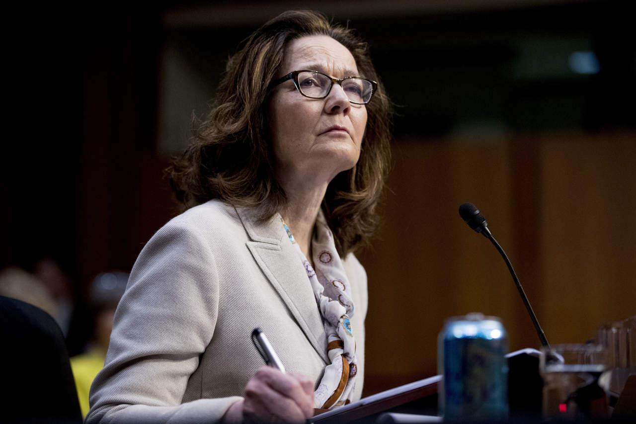 Panel senatorial confirma nominación de Haspel para la CIA