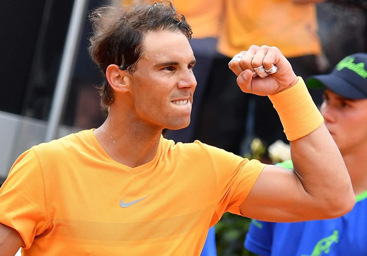 Rafael Nadal arranca con victoria en Roma
