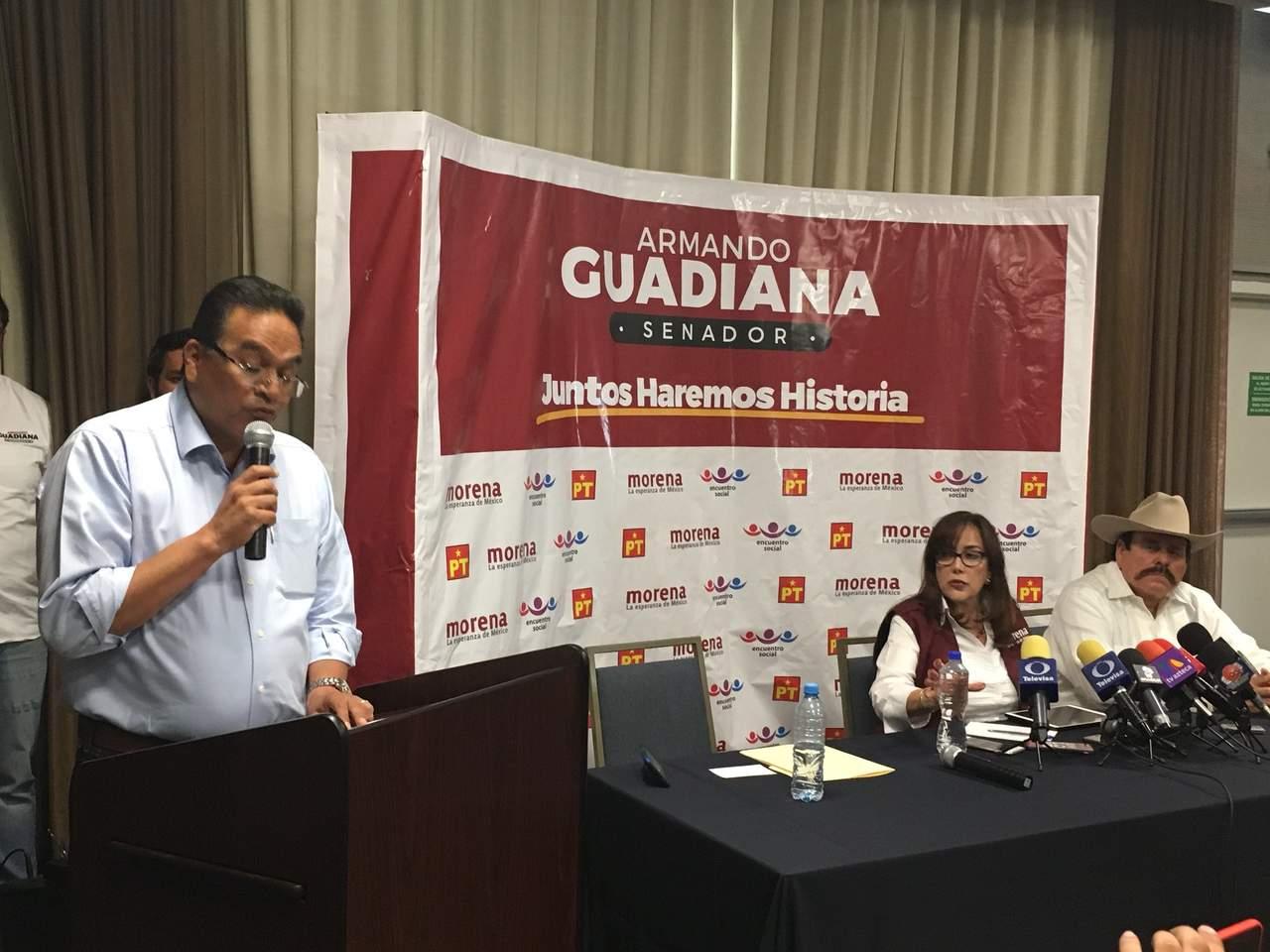 Javier Guerrero se une a proyecto de AMLO