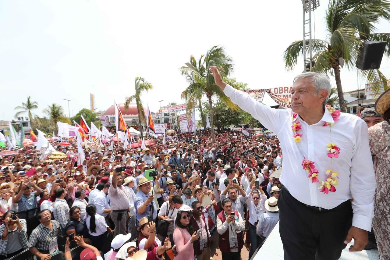 Promete AMLO serenar Guerrero mediante el combate a la pobreza