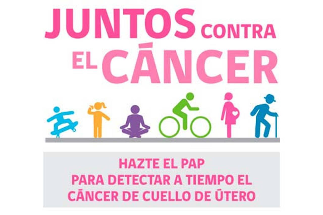 Lanzan campaña para detectar cáncer cervicouterino