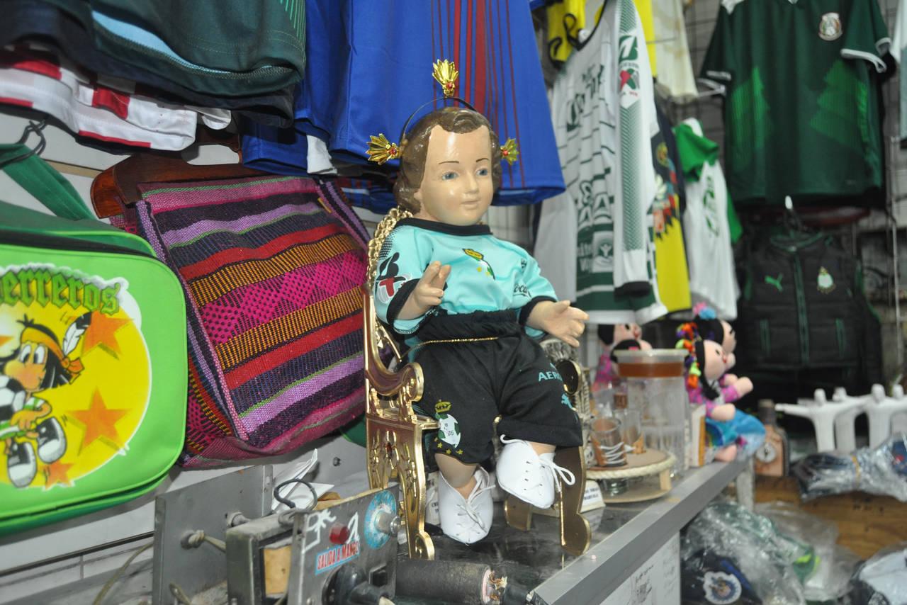 Aumentan ventas de artículos del Santos