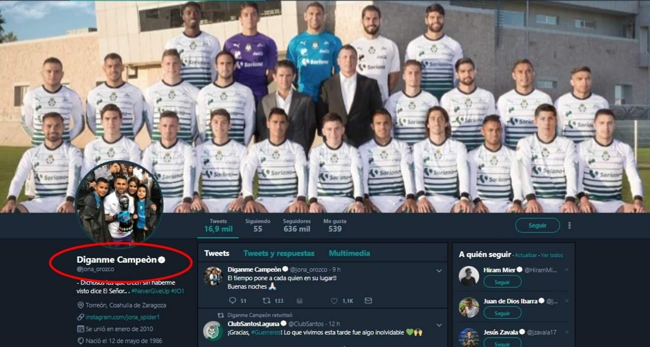 'Díganme Campeón', nuevo nombre de Orozco en Twitter