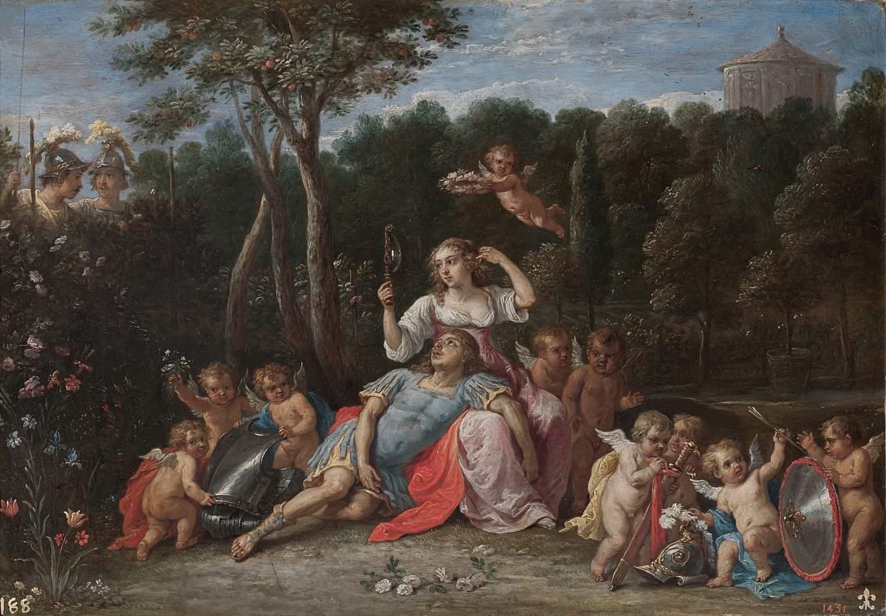 El jardín de Armida, de David Teniers