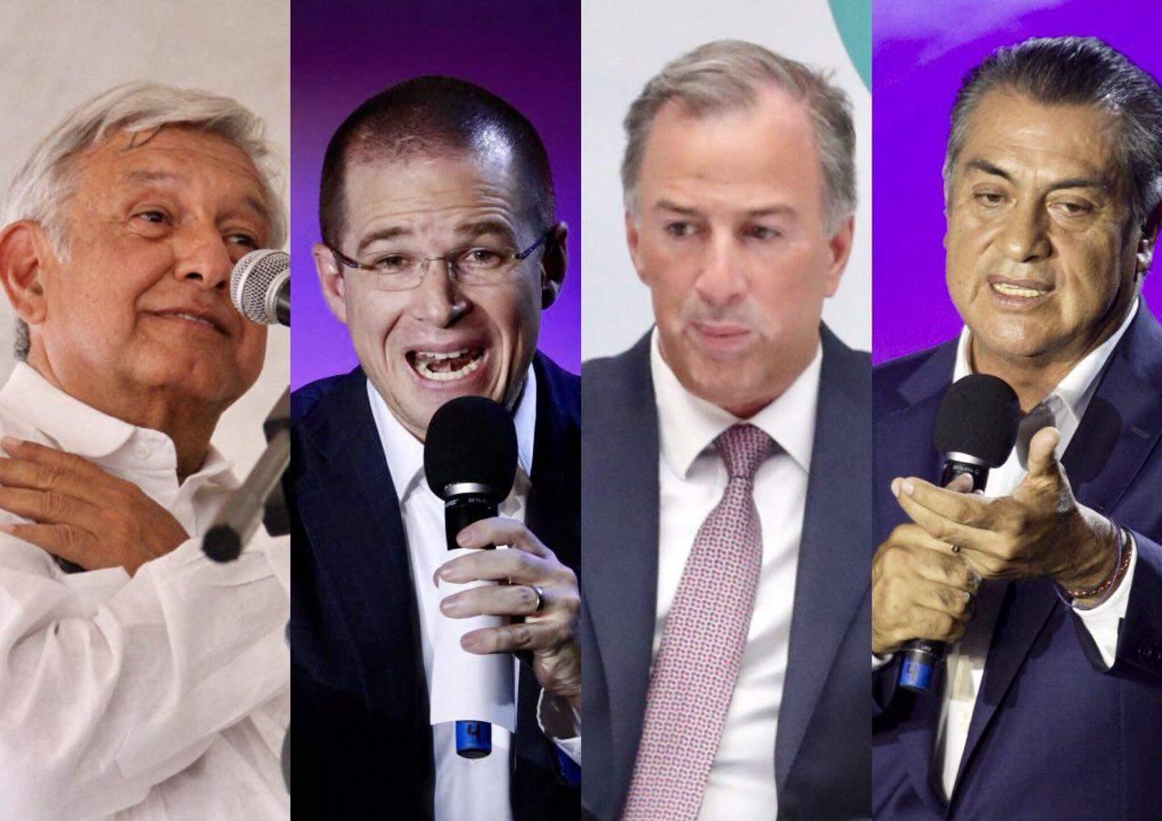 Sube AMLO en nueva encuesta de Reforma; Anaya retrocede