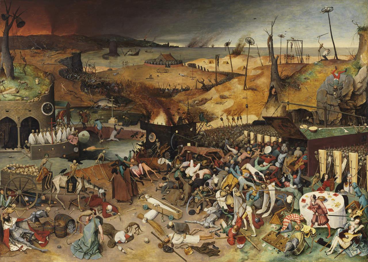 El triunfo de la muerte, de Pieter Bruegel