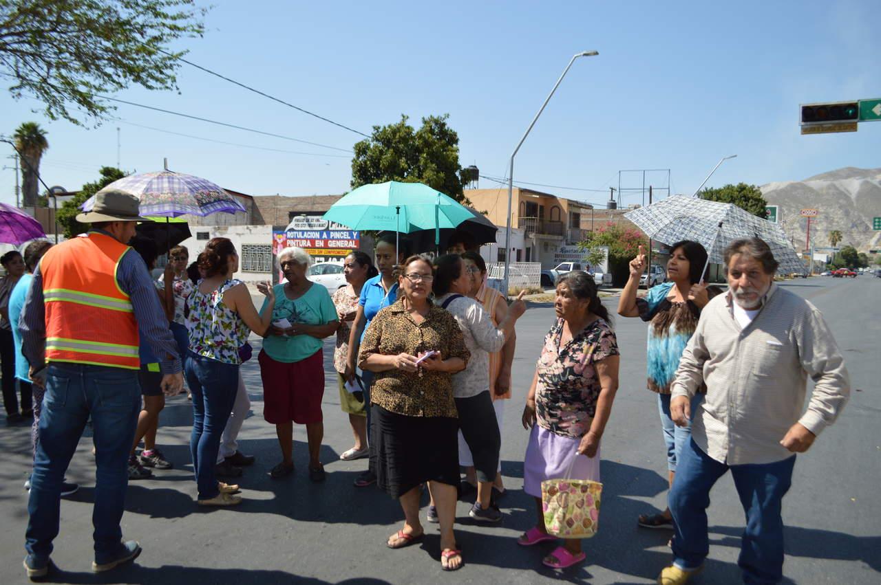 Protestan por falta de agua en Torreón