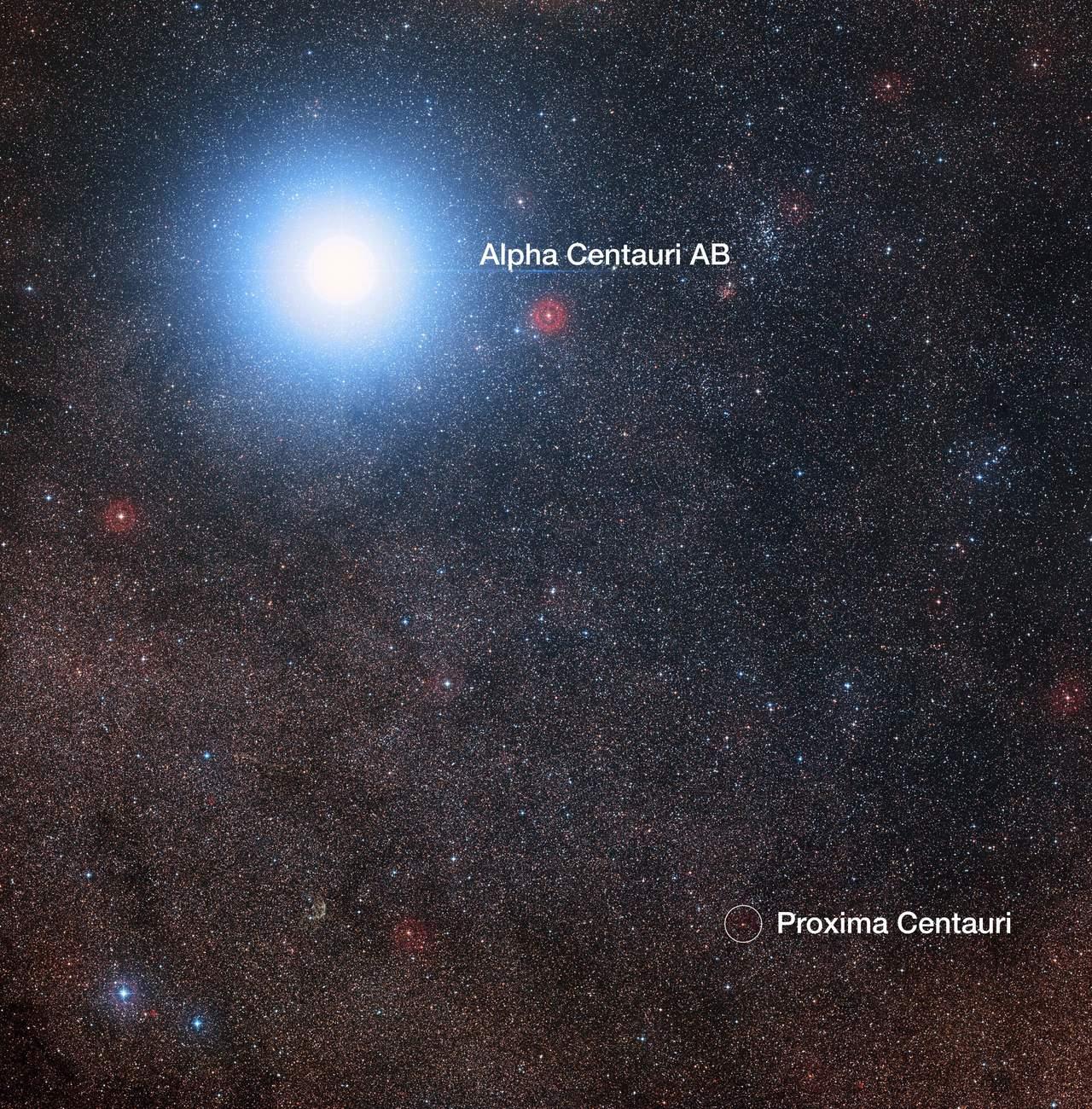 NASA revela nuevos resultados sobre Alfa Centauri