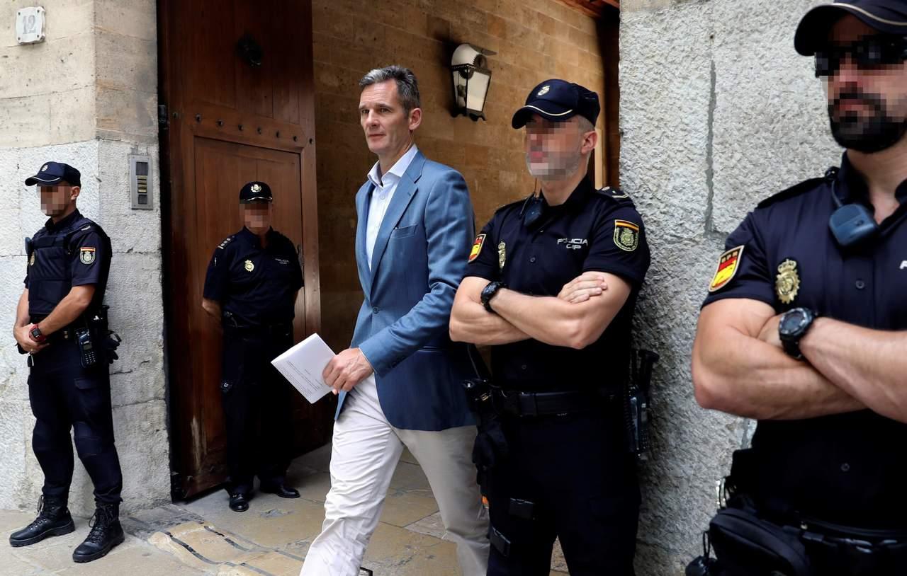 Dan 5 días al cuñado del rey de España para iniciar condena