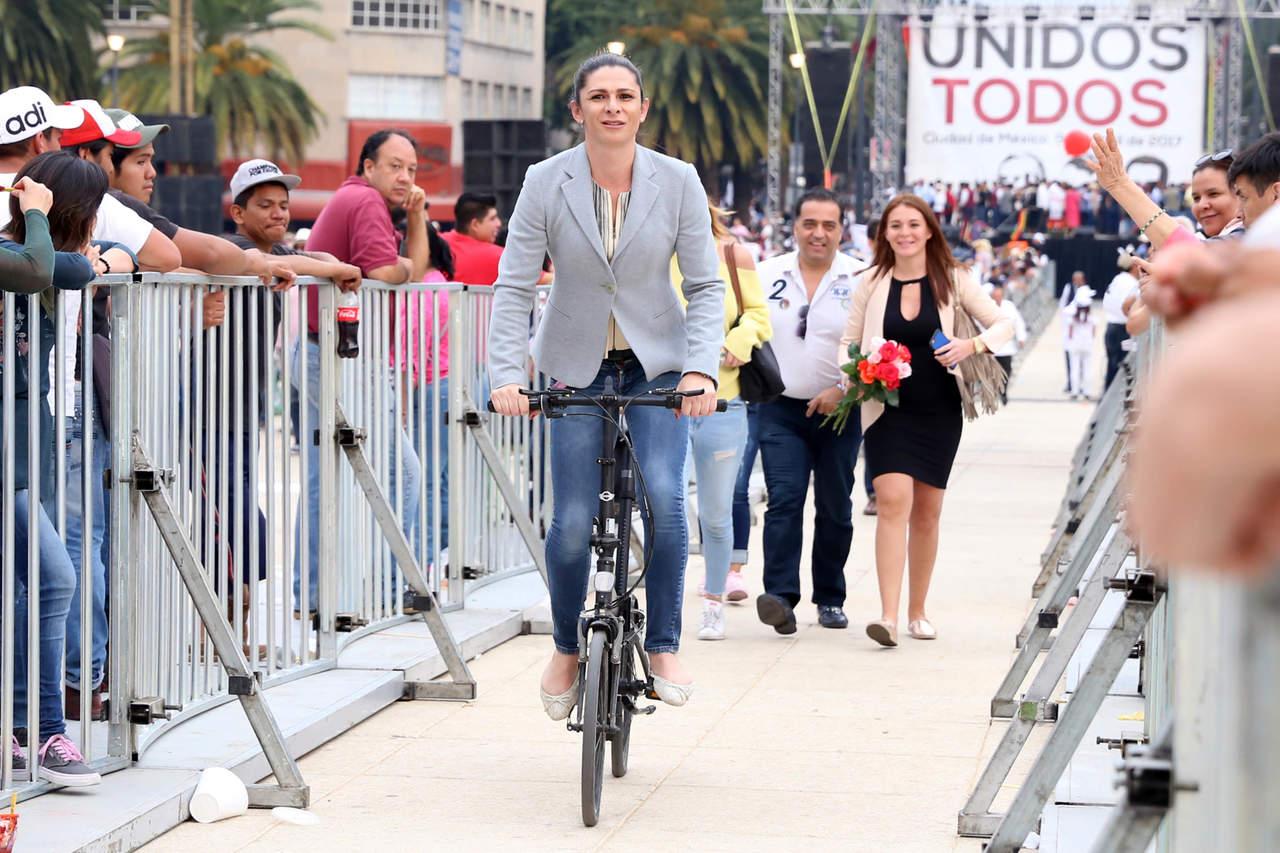 Ana Gabriela Guevara, dispuesta a dirigir la Conade