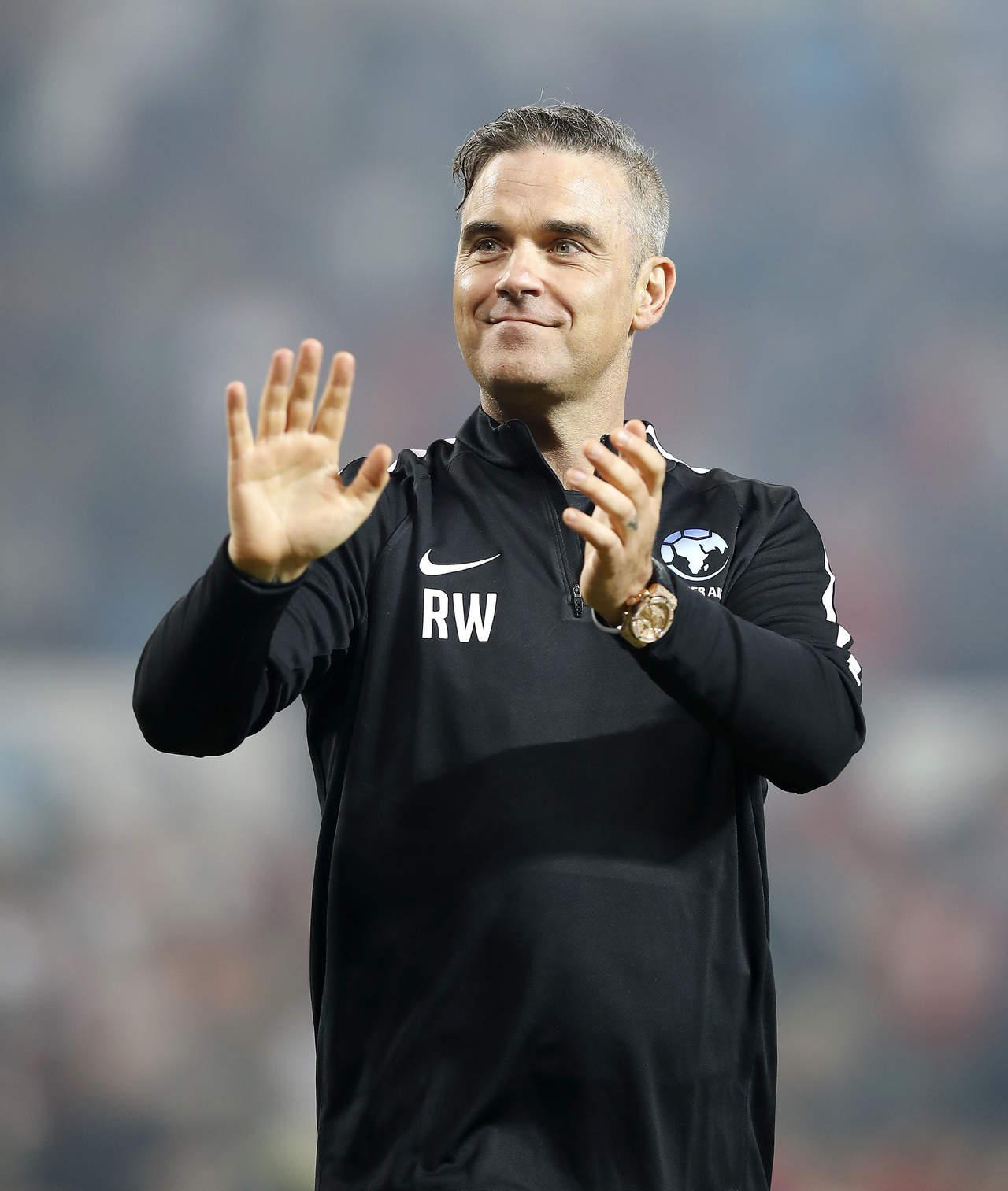 El Mundial es un sueño de la infancia: Robbie Williams