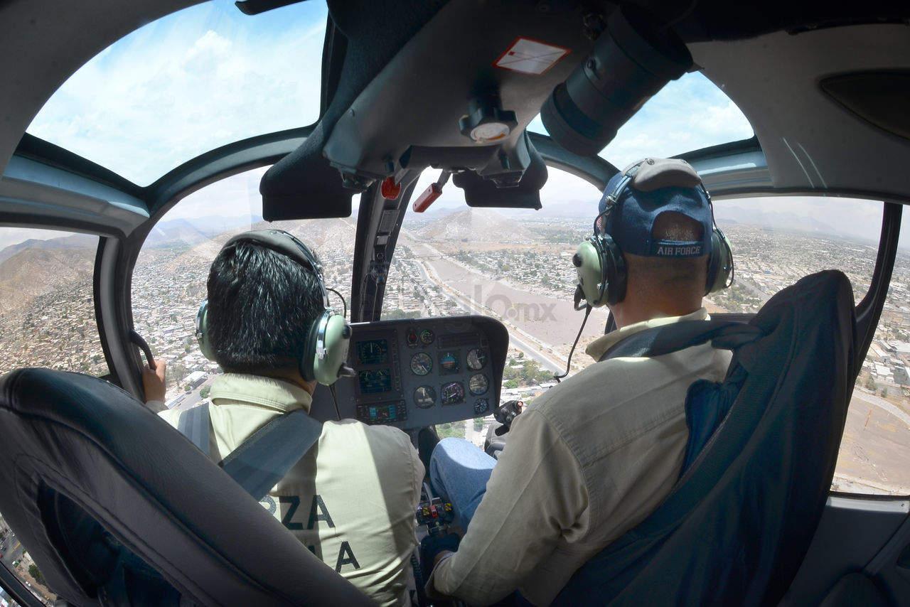 Con helicóptero de regreso, inicia operativo de refuerzo de seguridad en La Laguna