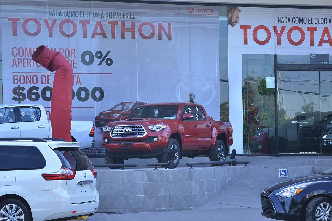 Tasa para comprar autos es de 12.6 %