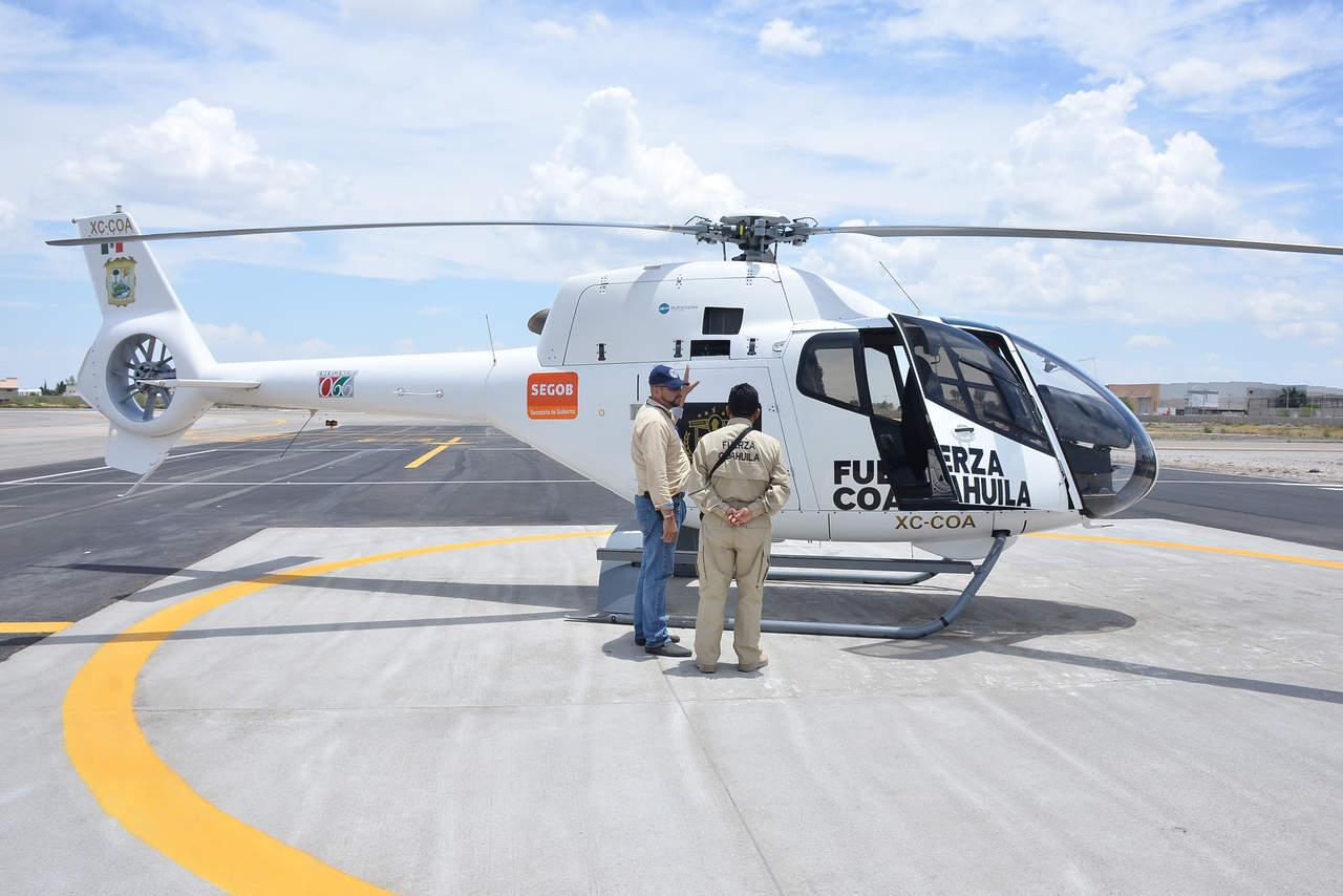 Tras ocho años fuera, regresa helicóptero