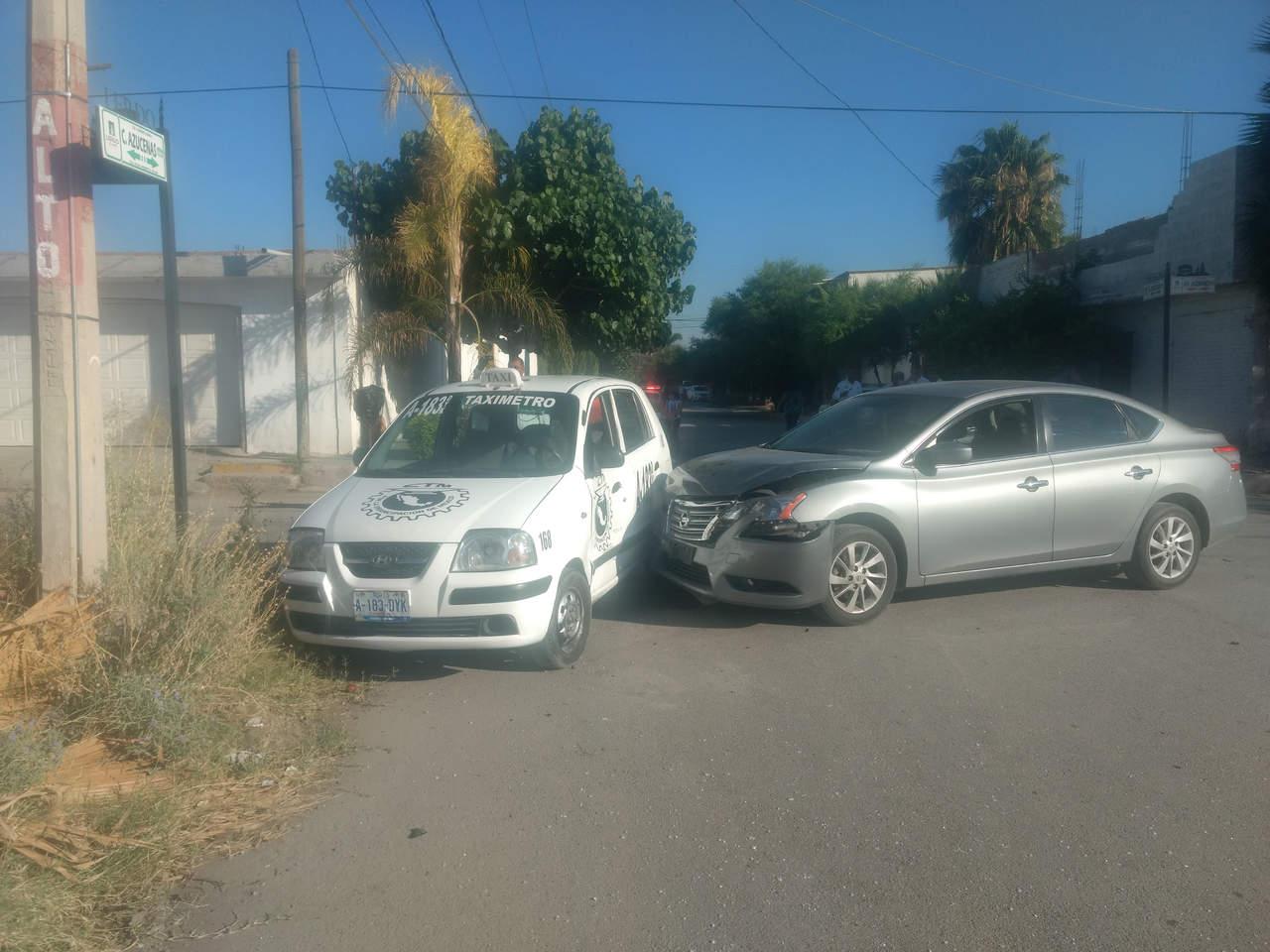 Accidente vial en Lerdo deja sólo daños materiales