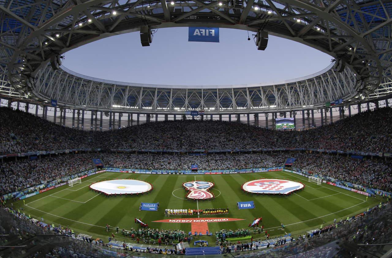 Al menos un millón de aficionados han entrado a estadios en Rusia